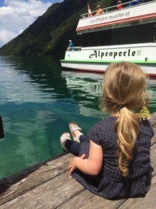 """Schiffsrundfahrt mit der """"Alpenperle"""" auf dem Weissensee"""