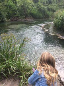 Sonntag: Ausflug zum Waldlehrpfad in der Nähe des Ederhofs