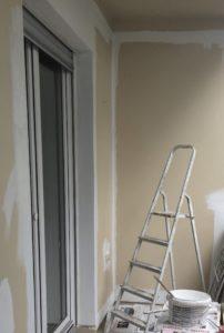 Balkon gstrichen